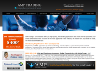AMPFutures.com (AMP Trading) - Screenshot