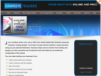 HawkeyeTraders.com - Screenshot
