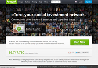 eToro.com - Screenshot