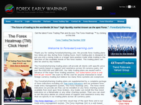 ForexEarlyWarning.com (Mark McDonnell) - Screenshot