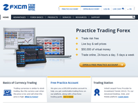 Fxcm.com - Screenshot