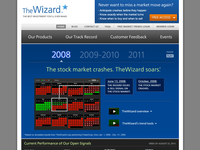 TheWizard.com - Screenshot