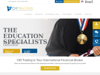 CMTrading.com (Capital Markets Trading) - Screenshot
