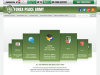 ForexPeaceArmy.com (Free Signals, Forum, Education, Reviews) - Screenshot