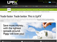 UpFX.com - Screenshot