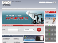 FXTG.com - Screenshot