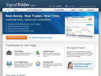 SignalTrader.com - Screenshot
